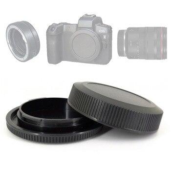 Hinten Objektiv Staub Kappe RF + Front Kamera Körper Abdeckung für Canon EOS R RP EOSR Kamera & RF Montieren linsen ersetzen R-F-5
