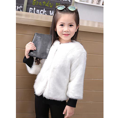 Winter Coat White Bottom Roblox Fahion Fur Jackets For Girls Autumn Winter Kids Jackets Coat
