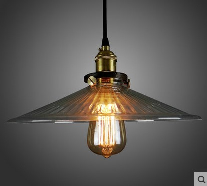 Edison Loft Style Vintage Pendant Lights Industrial Lighting With Glass Lampshade, Luminaire Lustres De Sala Teto Pendente vintage loft industrial edison flower glass ceiling lamp droplight pendant hotel hallway store club cafe beside coffee shop