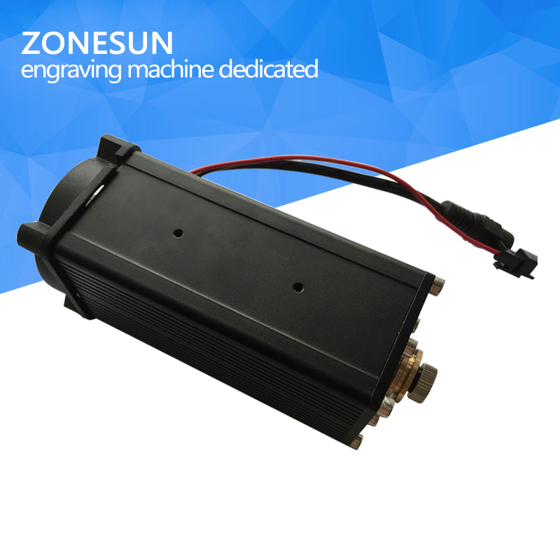 ZONESUN 7w 7000mw High-power DIY Laser Engraving laser module Blue Light 450nm Laser Head
