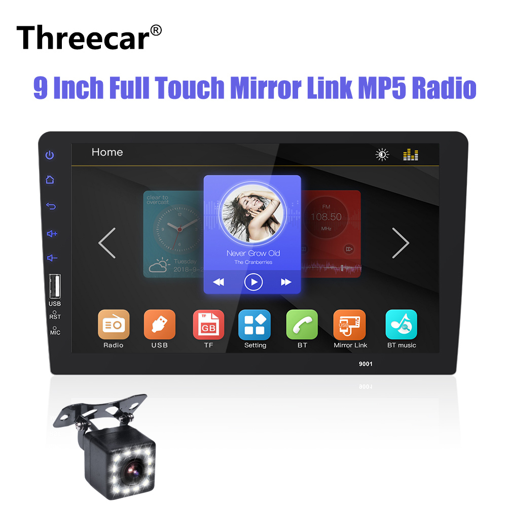 2 din Car Radio 9Full touch Autoradio Multimedia SD Player Auto audio Car Stereo MP5 Bluetooth USB Mirror Link Rear View Camera2 din Car Radio 9Full touch Autoradio Multimedia SD Player Auto audio Car Stereo MP5 Bluetooth USB Mirror Link Rear View Camera