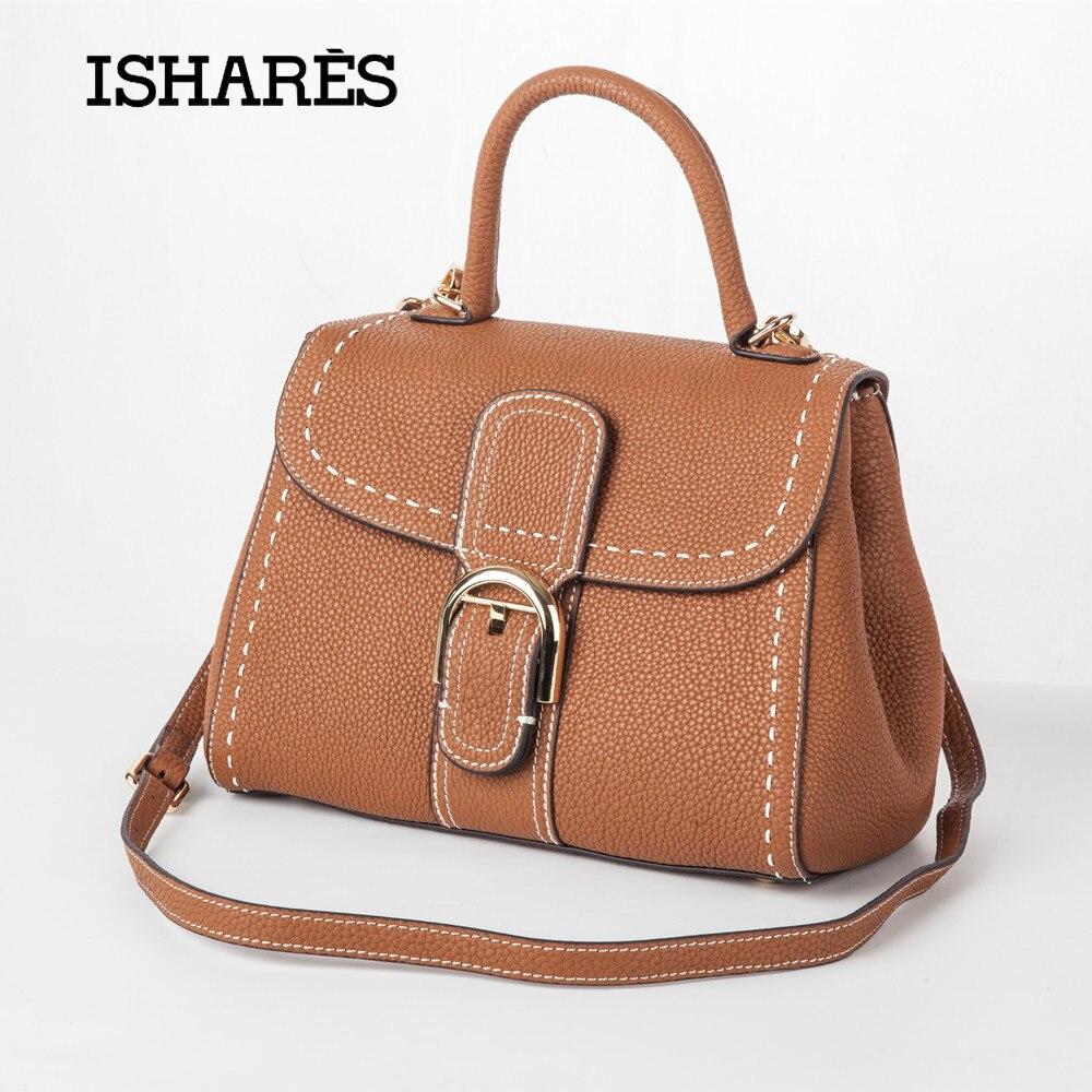 Комиссия 2018 из натуральной коровьей кожи Модные женские сумки ручной стежок дизайнерская сумка Shell бизнес Сумки для Для женщин is8121