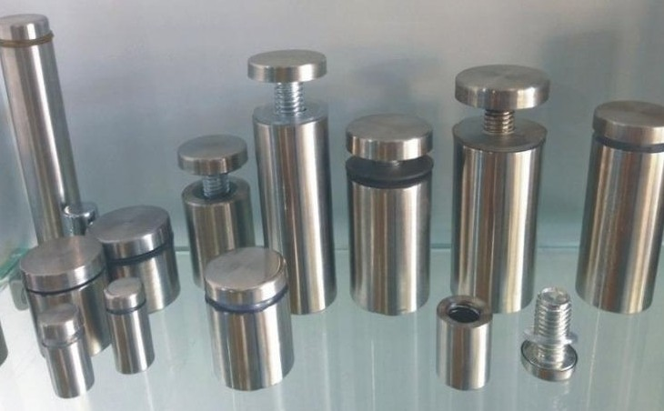 10pcs/lot 16*25/30/40/50/60/80/100 Stainless Steel Acrylic