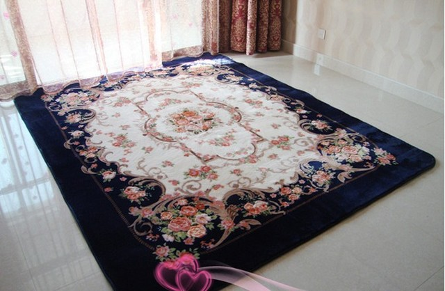 Washable Rug Acrylikc Material Diffe Size In Stock Clic Carpet Skid
