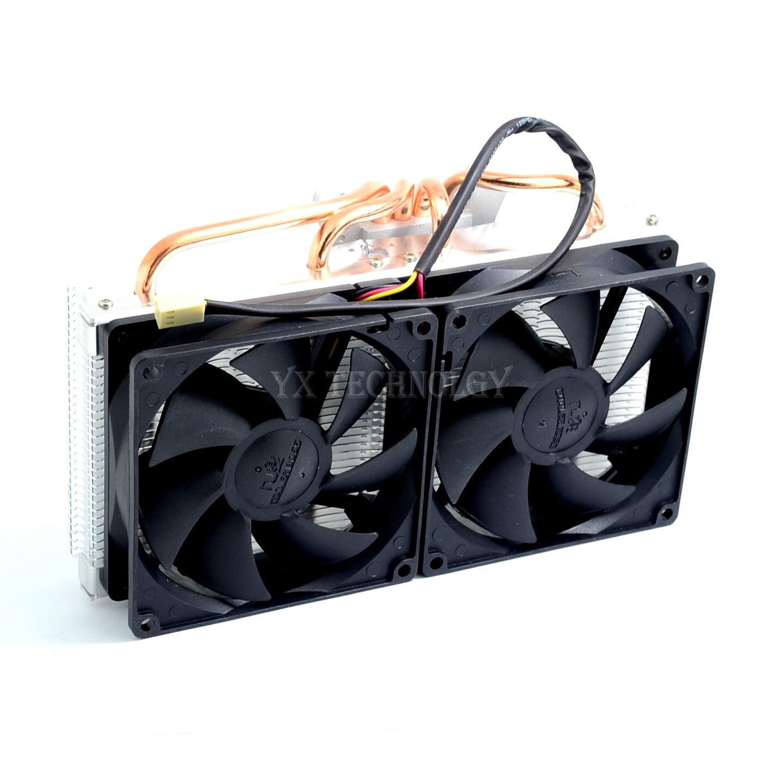 VGA Cooler, dual 90mm fan, 4 heatpipe, GTX980 970, r9 290 graphics card cooler, VGA Cooler fan, VGA fan, CoolerBoss GFH-409-02