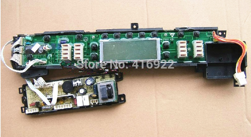 Free shipping 100% tested washing machine board for Haier xqb50-828 computer board on sale diysecur tcp ip usb fingerprint id card reader password keypad door access control system power supply magnetic lock kit