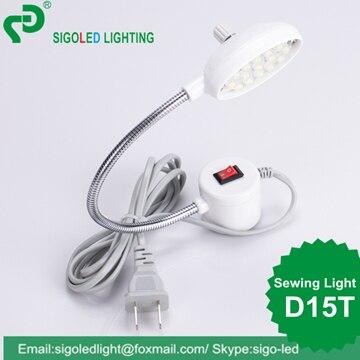 Pulsuz çatdırılma-2 ədəd / çox D15T-0.8W LED tikiş maşını - Professional işıqlandırma məhsulları - Fotoqrafiya 3