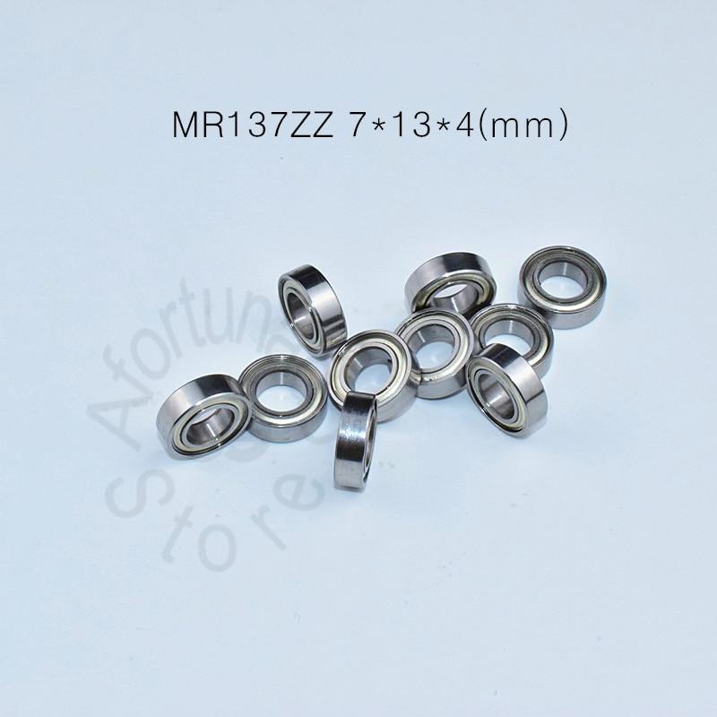 MR137ZZ 7*13*4(mm) 10pieces Bearing Metal Sealed Free Shipping ABEC-5 Chrome Steel Miniature Bearings Hardware Transmission Part