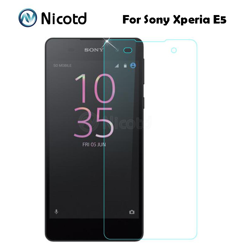 Tempered Glass For Sony Xperia E5 F3311 F3313 LTE Protective Film 9H Premium Screen Protector protective film For Sony E5 Glass(China)
