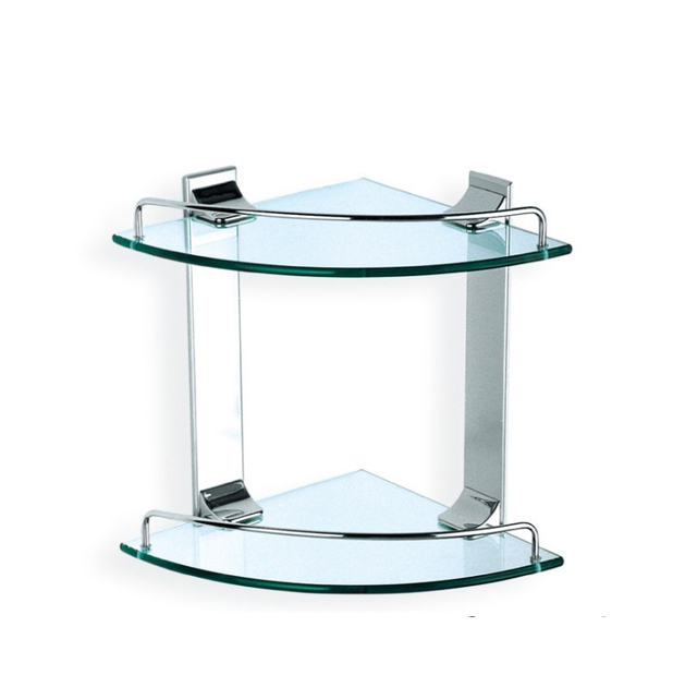 Badkamer planken, Dubbel glas plank, Hoek glas plank, Triple soort ...