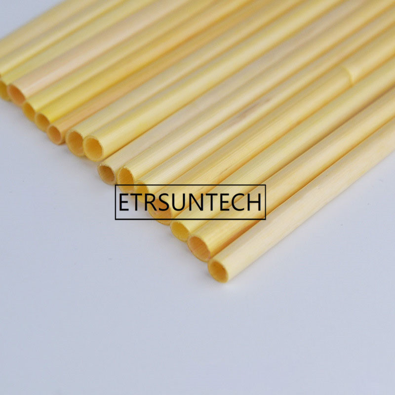 Biodegradeable Wheat Straw 20cm Organic Natural Disposable Drinking Straws Food Grade Straws for Tea Cocktail Straw