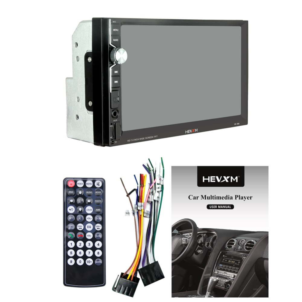 Image 3 - 999 2 Din 12V Car multi function radio, touch screen,  7inch Car MP5 player for Apple Android Phone Interconnect-in Car Radios from Automobiles & Motorcycles