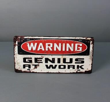 Винтаж Стиль забавные предупреждения Lincense плиты стены, декоративные Олово Вход паб КТВ или Танцы дом Настенный декор налет металла плакат