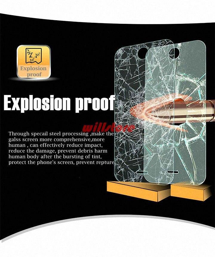 Ապակե էկրան էկրան պաշտպանող ֆիլմ Alcatel - Բջջային հեռախոսի պարագաներ և պահեստամասեր - Լուսանկար 3