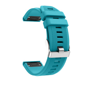 Image 4 - Sport Silicone Watchband Wriststrap for Garmin Fenix 6X 6 6S Pro 5X 5 5S Plus 3 3HR 20 22 26mm Easy Fit Quick Release wirstband