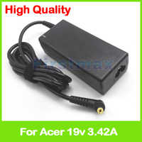 19 v 3.42A ac adattatore per Acer Caricatore Del Computer Portatile Aspire 3680 4520 5100 5315 5515 5520 5532 5720 alimentazione
