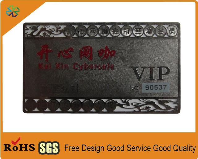 Silver stainless steel metal business cards metal vip caed silver stainless steel metal business cards metal vip caed manufacturer with cmyk printing engraved words cut reheart Gallery