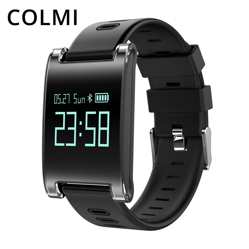COLMI DM68 Smart Wristband Blood Pressure Heart Rate Monitor Bluetooth Fitness Bracelet Call Reminder Activity Tracker купить в Москве 2019