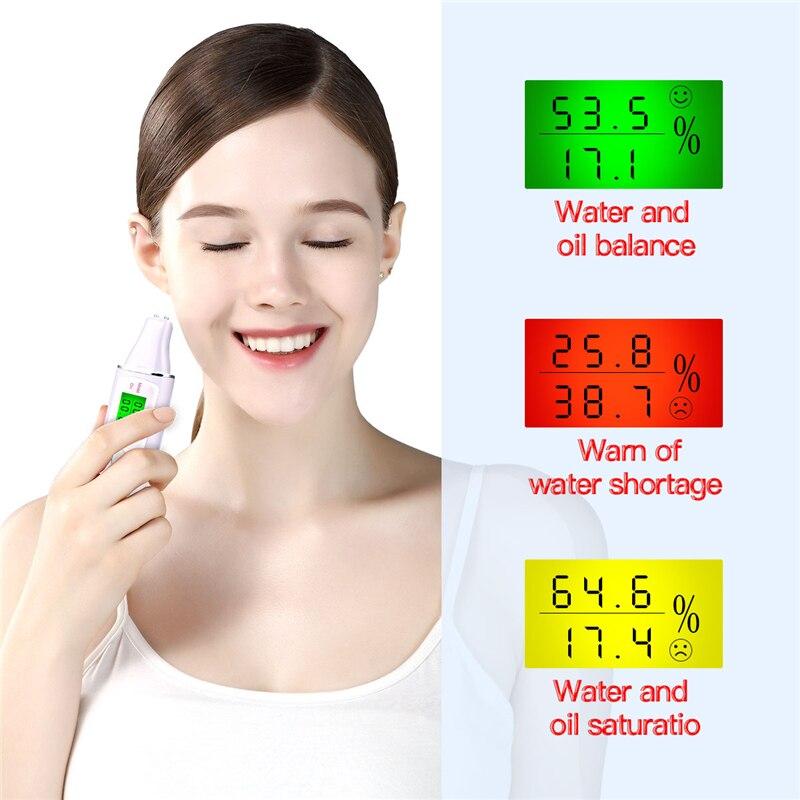 Skin Care Tools LCD Digital Moisture Monitor Detector Facial Skin Analyzer Tester Moisture Analyzer Skin Detector Care Tools P46