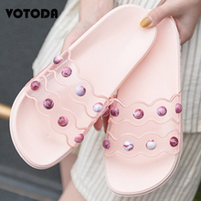 Summer Lady PVC Shoes Fashion Crystal Transparent Slippers Beach Flip Flops Sandals Flat Casual Jelly Slides Women Slippers Outd phyanic 2017 summer lady s flower flat sandals sexy casual fashion slippers female beach flip flops women shoes phy5151