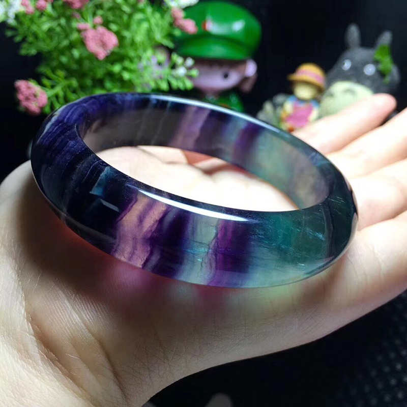 JoursNeige Fluorite Natural Stone Bangles Original Stone Cutting Bracelet Pattern Rarity Rare Fashion Bangle for Women JewelryJoursNeige Fluorite Natural Stone Bangles Original Stone Cutting Bracelet Pattern Rarity Rare Fashion Bangle for Women Jewelry