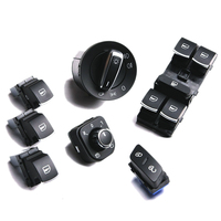 7Pcs TUKE OEM window & headlight & electric Windows & control the door switch Pour VW Jetta Golf 5ND941431A 5ND959855