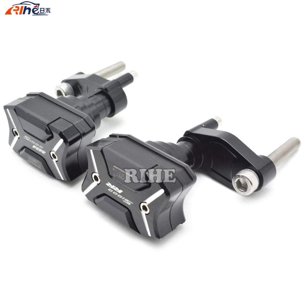 Motorcycle CNC Aluminum Left and Right Frame Slider Anti Crash Protector For BMW S1000RR 2010 2011 2012 2013 2014 2015  цены