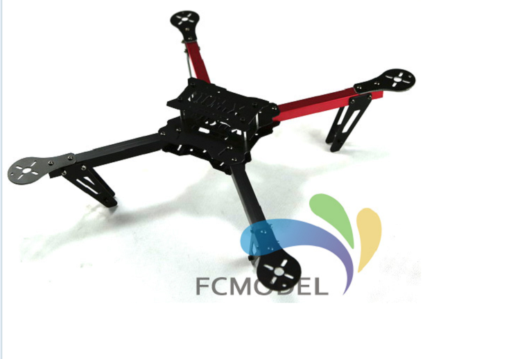 X420 X400 400 Quadcopter Glasvezel Frame Kit Quadcopter Vliegtuigcasco Fiber Glass 400mm Wielbasis MultiCopter