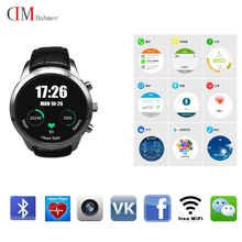 "2016 original Smart Watch 3G X5 K18 Android WCDMA WiFi Bluetooth SmartWatch GPS 1,4 ""Amoled-display ähnliche Huawei Uhr PK i95"