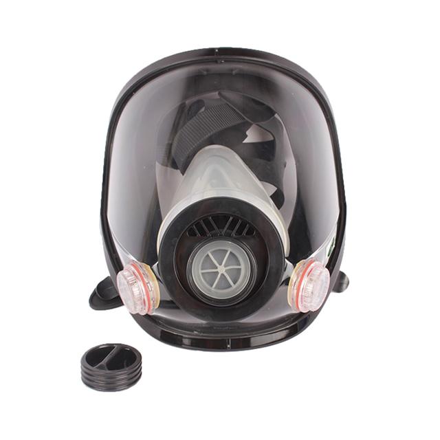 2015 nueva máscara de gas máscaras de silicona médica militar de campo completo se puede utilizar con bombonas de gas de respiración tubo de respiración tubo utilizado