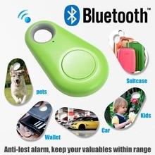 Keyfinder Wallet Dog Cat kids GPS locator anti lost keychain Smart Search Bluetooth Tracker Tag Key Finder Personal Alarm
