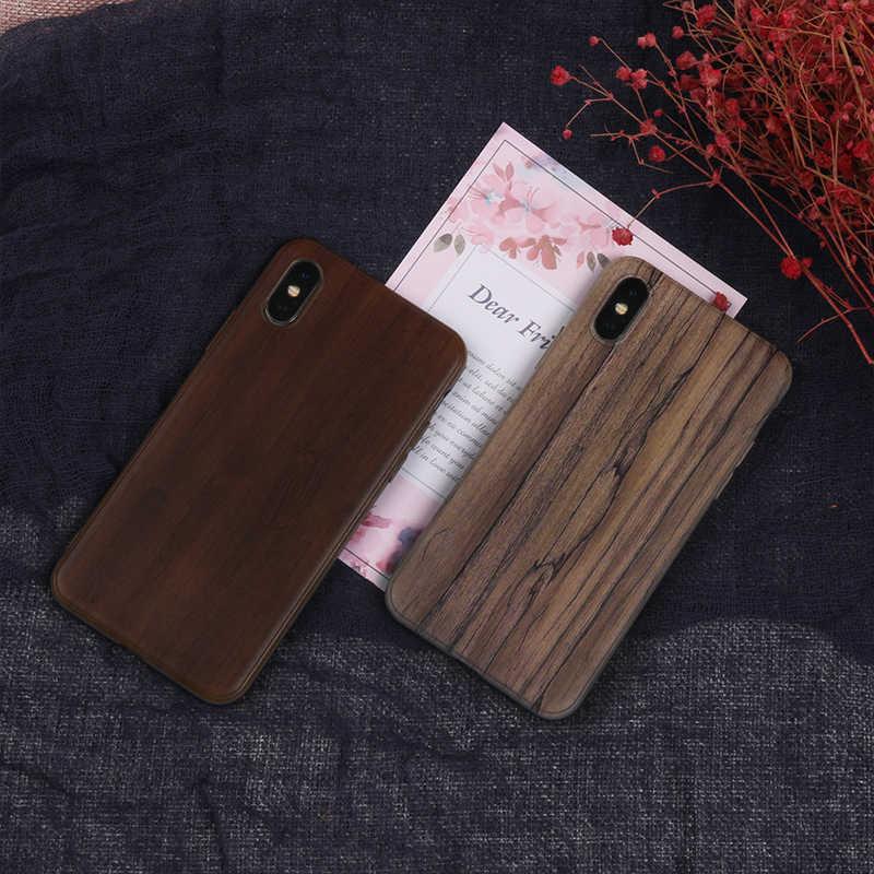 Окрашенный мраморный силиконовый чехол для телефона для Huawei Honor 4C 5A 5X 5C 7A Pro Enjoy 7 Plus 7S Y6 Y7 Y9 2019 Pro Prime Retro Wood Back C