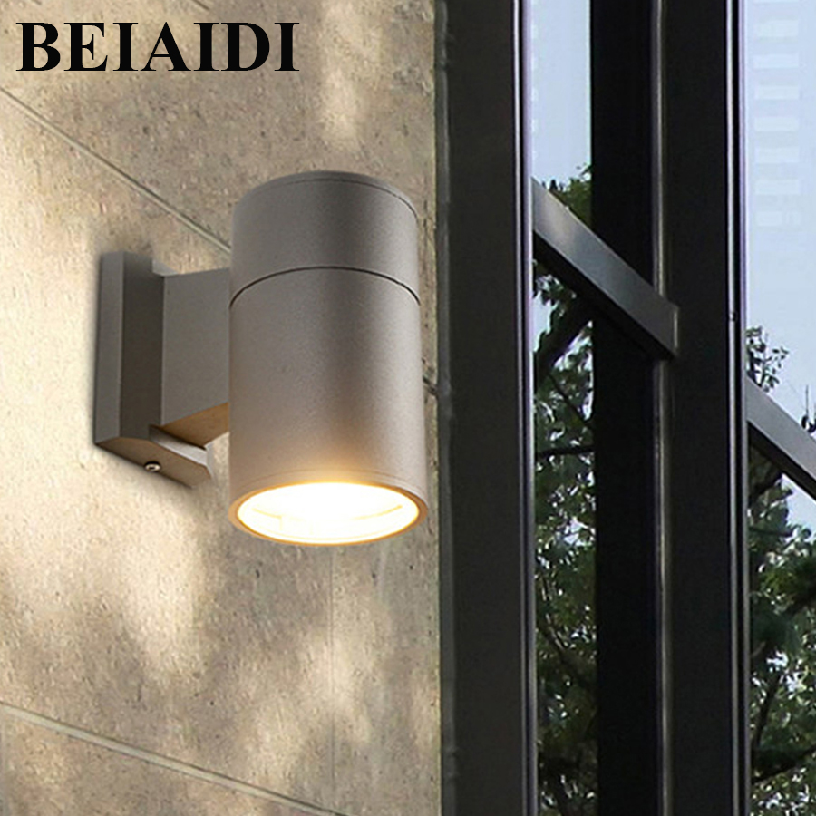 BEIAIDI 3/6/12W Waterproof Led Wall Lamp Outdoor Villa Porch Wall Light IP54 Hotel Restaurant Corridor Pathway Lighting Fixture