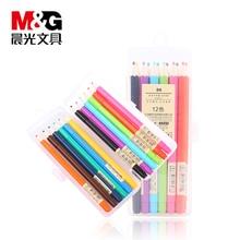 12 PCS/pack 0.35mm Gel Pens Cute Korea Stationery Store Sign M&G AGPA6705