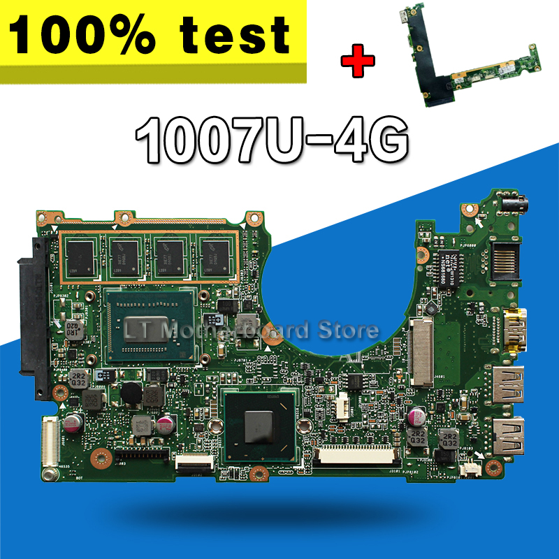 send board +X202E Motherboard 1007u 4G REV2.0 For ASUS X201E S200E Q200E Laptop motherboard X202E Mainboard X202E Motherboard x202e q200e s200e x201e laptop motherboard mainboard for asus with i3 2365cpu 4g ddr3 1333 mhz tested