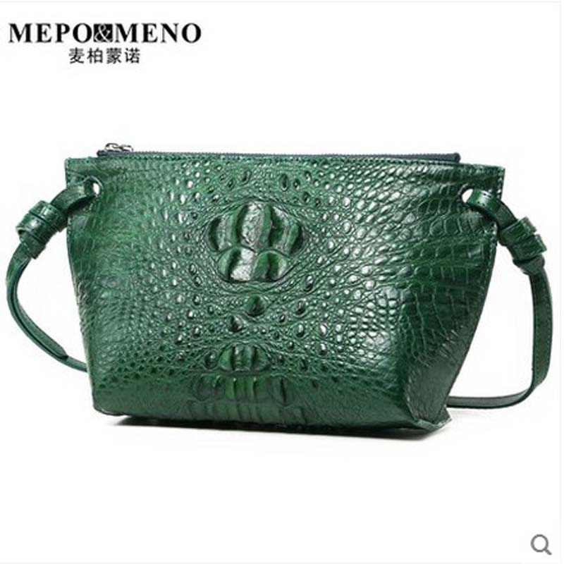 2018 maibomengnuo Thailand Nile crocodile The new style of women's bags of new fashion and simple ladies shoulder slanting стулья для салона thailand such as