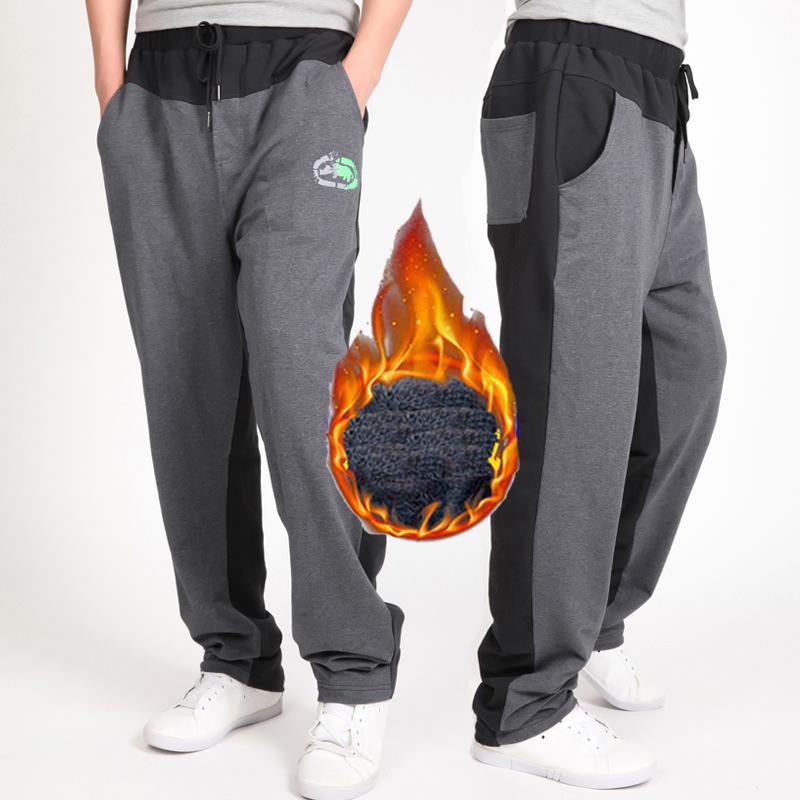 Warm winter pants men Joggers pants Hip Hop pants men clothes 18 Streetwear men's trousers large size XXXL 4XL 5XL 6XL 7XL 8XL 2