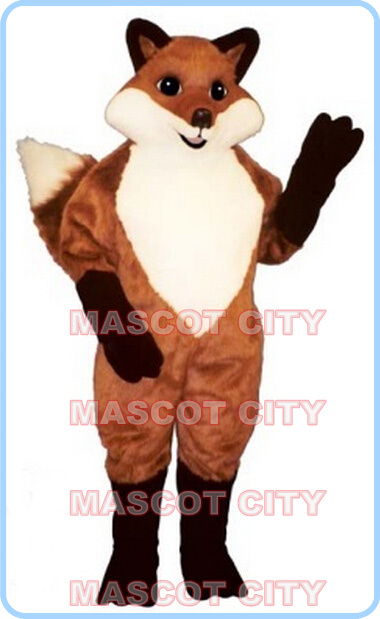 Mascotte renard rouge mascotte Costume peluche renard thème nouveau anime cosplay costumes fursuit carnaval fantaisie robe kits 2690