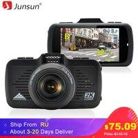 Junsun A799 Car DVR Camera GPS 2 In 1 Ambarella A7LA50 With Speedcam Super Full HD