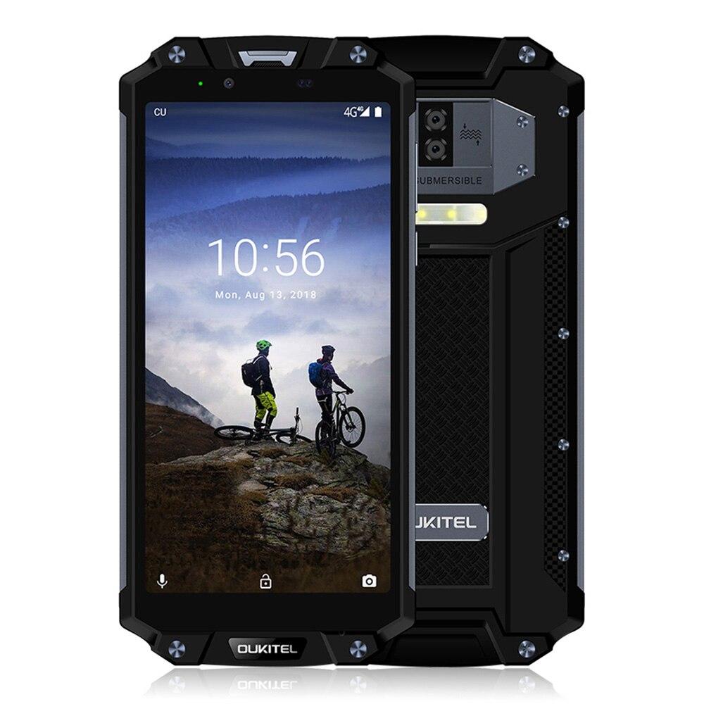 10000mAh OUKITEL WP2 4G Waterproof 6.0 inch Smarphone 2160 x 1080 IPS Octa Core 4GB RAM 64GB ROM 16MP Camrea GPS NFC Phone