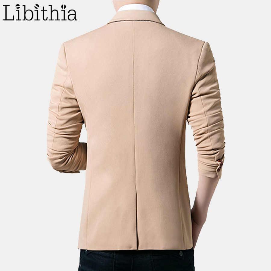 メンズウェディングドレススーツブレザーワンボタンスリムフィット新到着ブランドの服プラスサイズ 5XL カジュアルコート男性衣装 e469