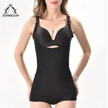 TOPMELON Shapewear Emagrecimento Cueca Bodysuit Lingerie Sexy Corpo Mulheres Shaper Da Cintura Underbust Shaper Shapers Magros