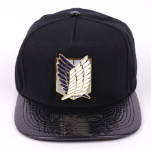 Attack on Titan Surveys Corps Logo Men/Women Fashion Adjustable Baseball Hats