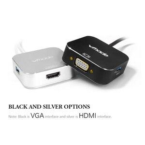 Image 5 - Vmade plus récent 4 en 1 Mini adaptateur type c USB C 3.0 HUB vers HDMI prise en charge audio et vidéo transmission Mini convertisseur pour Samsung S8