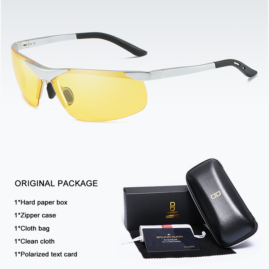 Bruno dunn 2020 Men Sunglasses Polarized uv400 high quality oculos de sol masculino oversized sunglases lunette soleil homme 17