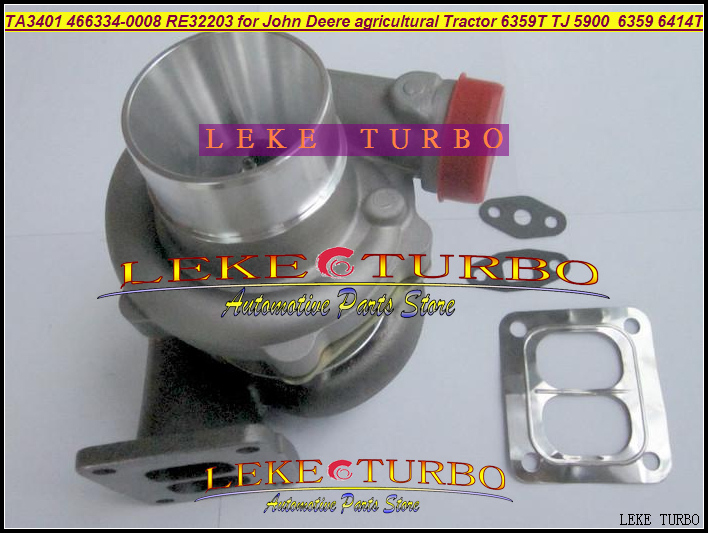 TA3401 466334-0008 466334 466334-0001 466334-0002 RE32203 Turbo For John Deere agricultural Tractor 6359T J 5900 6414T 5.9L 6.8L h g wells the island of doctor moreau