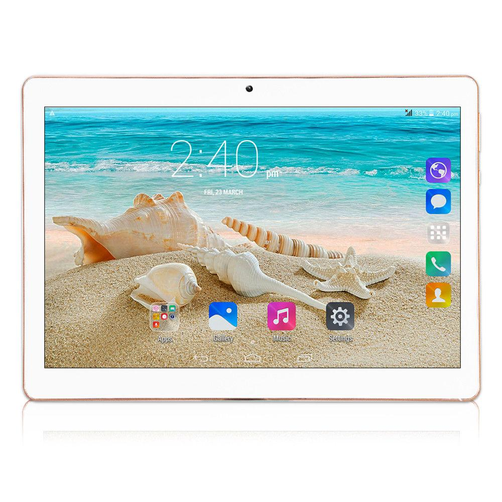 OEM BRAND 10.1 Inch Tablet Android 8000mAh GPS1GB+16GB WIFI MT6582 quad-core IPS Bluetooth Dual SIM Card 3G Phone Call 2560*1600 image