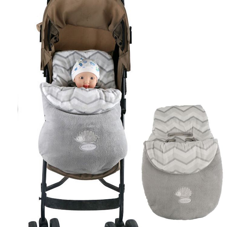 2017 New Baby C Fleece Sleeping Bag For Stroller Warmer Winter Thicken Plush Sleepsacks Toddler In From Mother