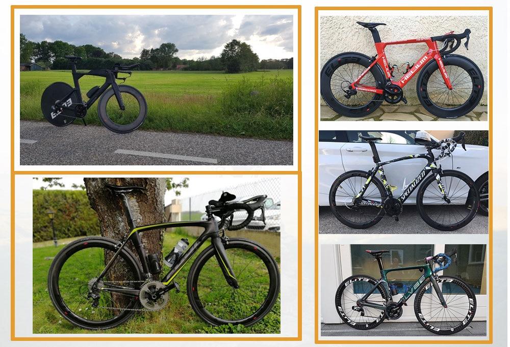 Elite 700c rodado bicicleta de estrada rodas