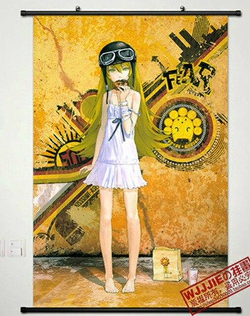 Anime Home DecorWall poster Scroll Bakemonogatar 016Oshino Shinobu ...